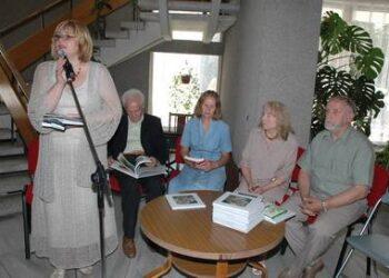 Naujas rašytojų knygas pristatė Dangira Nefienė