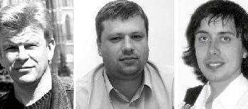 Diskusijoje dalyvavo Vytautas Galvonas, Aidas Gilys ir Alvydas Žala Jono JUNEVIČIAUS nuotr.