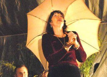 Kūrinius iš mecosoprano Onos Zabielaitės – Karvelienės (Anos Zabello) repertuaro atliko operos solistė Eugenija Klivickaitė. Jono JUNEVIČIAUS nuotr.