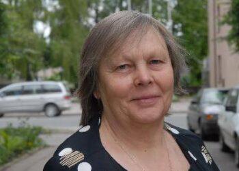 Paprastai padėkomis nesišvaistanti pensininkė Marijona Fergizienė nors kartą pastebėjo ir gerus Anykščių komunalinio ūkio darbus