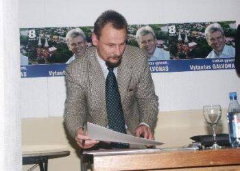Meras Sigutis obelevičius artimiausiu metu turėtų sulaukti protestuotojų. Jono JUNEVIČIAUS nuotr.