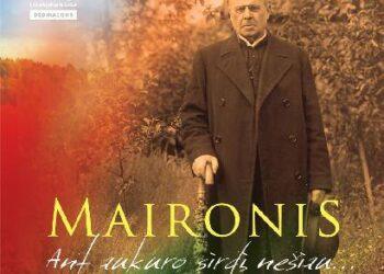 Maironio talentą liudijanti literatūros ir muzikos programa šiemet buvo išleista ir kompaktine plokštele.