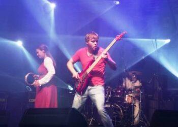 """Grupei """"Žalvarinis"""" geresnį įspūdį paliko Anykščių miesto šventė nei festivalis Rumšiškėse. V. Steniulytės nuotr."""