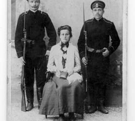 Jauna idealistė, 1905 m. revoliucijos dalyvė Kotryna Jonelytė nuo Troškūnų.