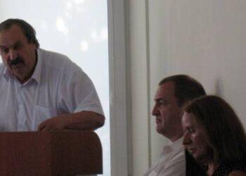 """Rajono Tarybos Antikorupcijos komisijos pirmininkas Romaldas Gižinskas tikino, kad situacija A.Vienuolio progimnazijoje susidomėjo """"aukščiausi šalies teisėsaugos organai"""".  Vidmanto ŠMIGELSKO nuotr."""