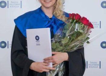 Monika Zaturskytė - naujoji Anykščių rajono savivaldybės viešųjų ryšių specialistė. Nuotrauka iš Facebook