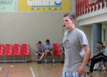 Krepšinio statistas/teisėjas Algirdas Kalinovas džiaugėsi laisvu darbo grafiku.