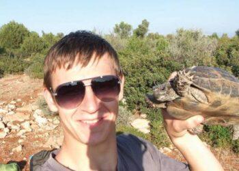 Žygimantas Obelevičius, pagal studentų mainų programą Erasmus turėjęs galimybę biologiją pastudijuoti Turkijoje, susipažino ir su vietiniais gyvosios gamtos gyventojais.  Nuotr. iš asmeninio albumo
