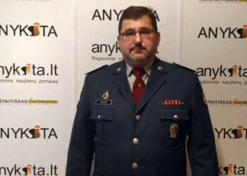 Anykščių rajono policijos komisariato viršininkas Rimantas Čepulis.