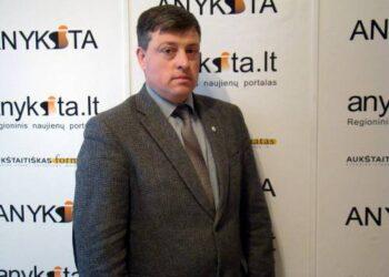Anykščių valstybinės maisto ir veterinarijos tarnybos viršininkas Dainius Žiogelis.