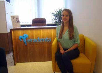 """Anykščių odontologijos centro """"Teradenta"""" direktorė Karolė Kugienė."""