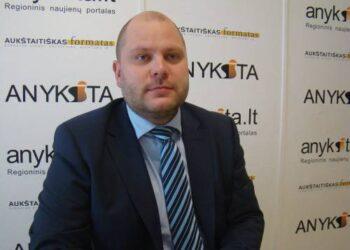 Lietuvos Respublikos liberalų sąjūdžio kandidatas į Seimą Lukas Pakeltis.