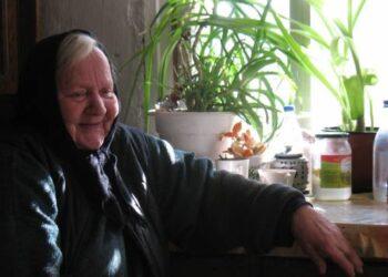 Smagi močiutė Stanislava Ščerbinskienė.
