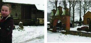 Namelyje, šalia Čekonių kapinių tvoros, gyvenanti Rasa Grebnickaitė džiaugiasi tokia kaimynyste.