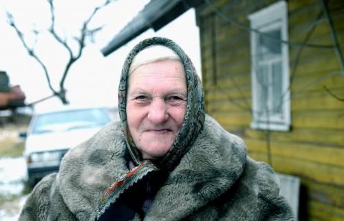 Kaimo dvasios sergėtoja Bronė Kviklienė.