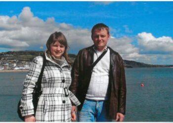 Aurelija ir Andrius Dūdėnai teigia į užsienį išvykę ne tik uždarbiauti, bet ir pakeliauti.  Nuotr. iš asmeninio albumo.