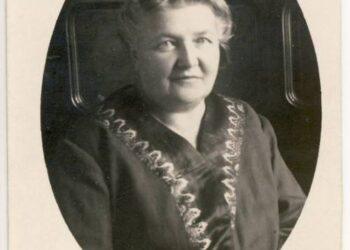 Liudvika Didžiulienė-Žmona į istoriją įėjo ir kaip pirmosios žinomos gastronominės knygos lietuvių kalba autorė.A. Baranausko ir A. Vienuolio-Žukausko memorialinio muziejaus nuotr.