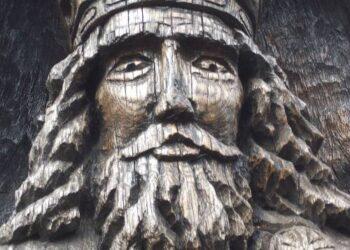 Vienintelis Lietuvos karalius Mindaugas įamžintas meistro Jono Tvardausko skulptūroje.