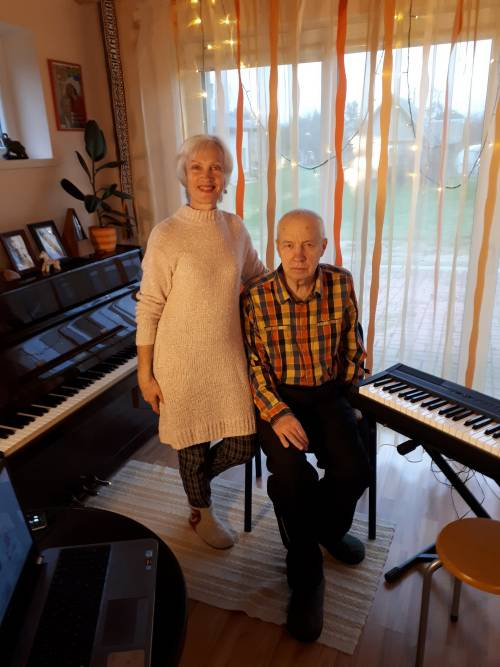 Irena ir Balys Meldaikiai kartu jau 35-erius metus.