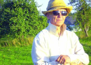 """""""Baltų sodo"""" įkūrėjas gydytojas Kęstutis Pangonis: argi ne sodininkas?"""