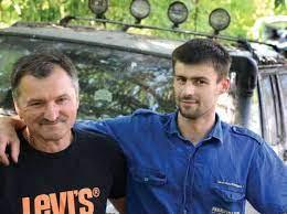 Šarūno Gruzinsko tėtis Vytautas, varžybose ir patarėjas ir automechanikas